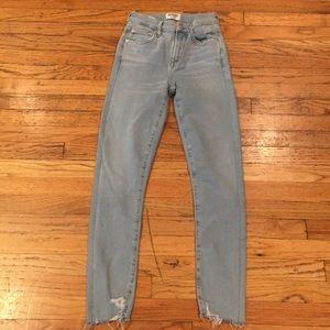 AGOLDE skinny jeans sz 23